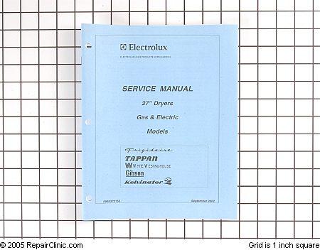 kenmore gas dryer repair manual