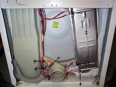 [SCHEMATICS_4CA]  FIXED - Roper dryer RED4440SQ0 Not heating | ApplianceBlog Repair Forums | Roper Electric Dryer Wiring Diagram For A |  | ApplianceBlog