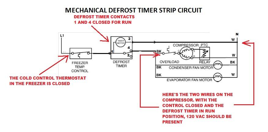 Fixed Frigidaire Mini Refrigerator Defrost Timer Replacement Help W10822278 Uet120 Dbyc903bl Applianceblog Repair Forums