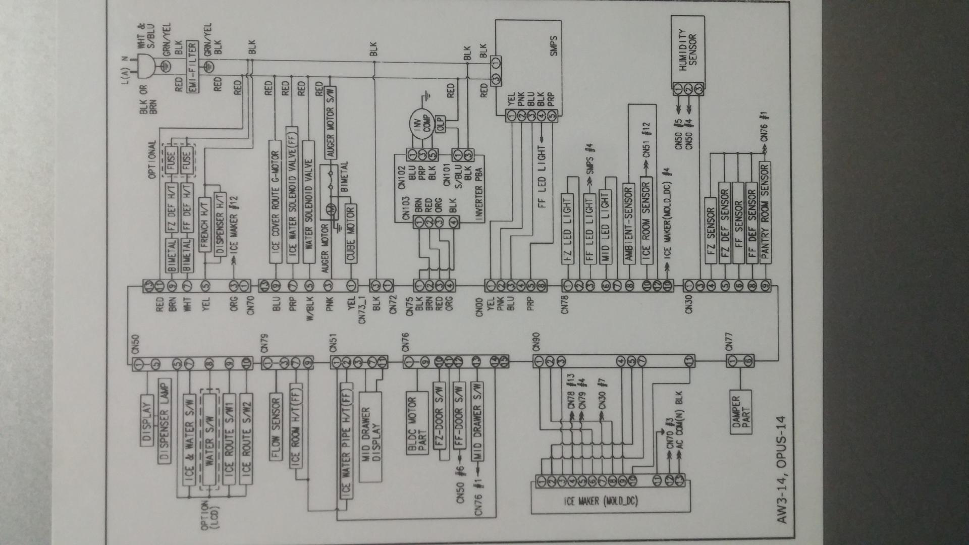 Samsung Rf28hmedbsr Compressor Bad Applianceblog Repair