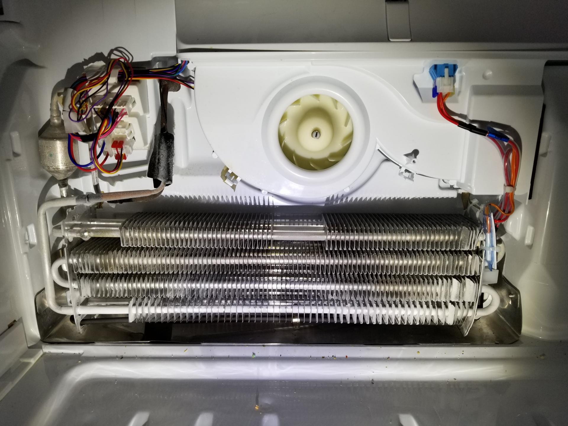Lmxs30776s 02 Refrigerator Not Cooling New Evap Fan Motor Part