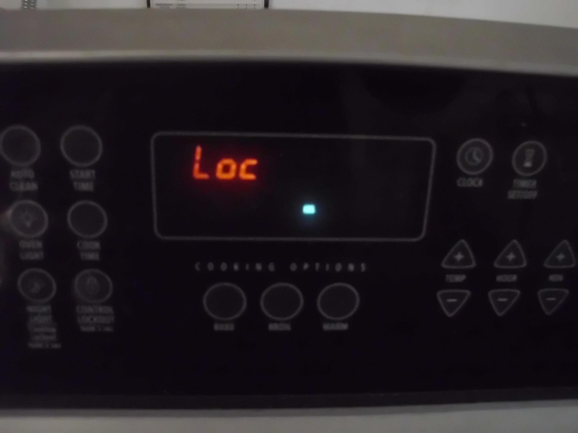 How to turn off whirlpool oven