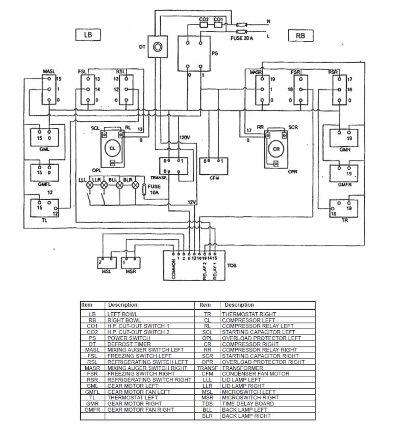 Commercial Defrost Timer Wiring Diagram
