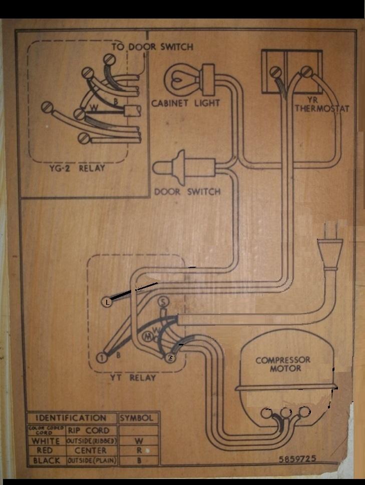Admiral 7D1S wiring diagram | Applianceblog Repair Forums | Admiral Refrigerator Wiring Schematic |  | ApplianceBlog
