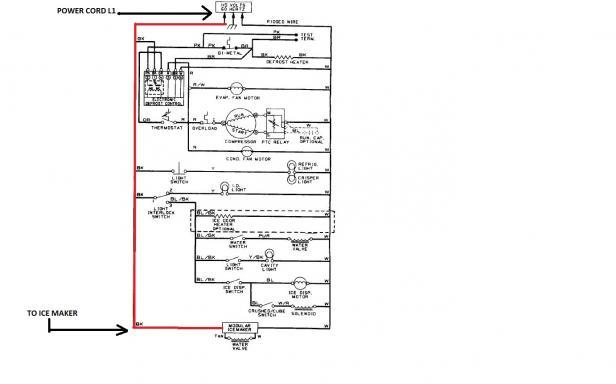 ice machine wiring diagram
