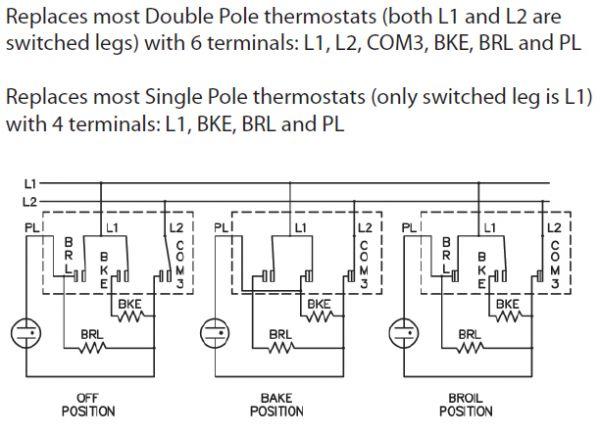 ZDP36l6D2SS Replacing Thermostat on GE Monogram Oven/Range   Applianceblog  Repair Forums   Ge Thermostat Wiring Diagram      ApplianceBlog