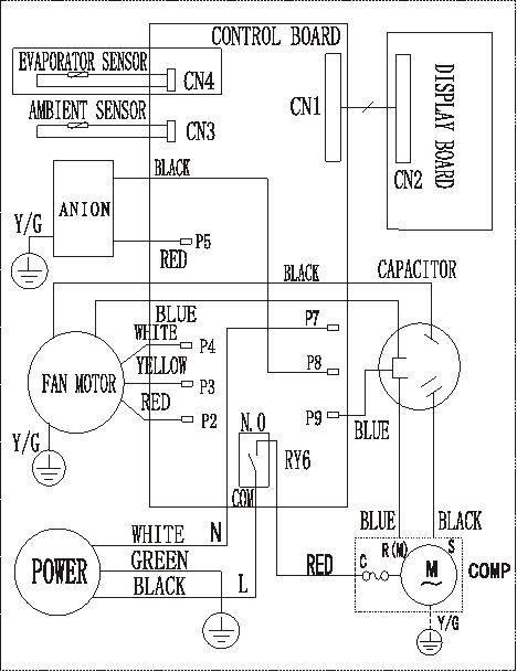 FIXED - FFRE1233S1 Frigidaire Window AC - Help wiring Window a/c blower  Motor | Applianceblog Repair Forums | Ge Window Unit Wiring Schematic |  | ApplianceBlog