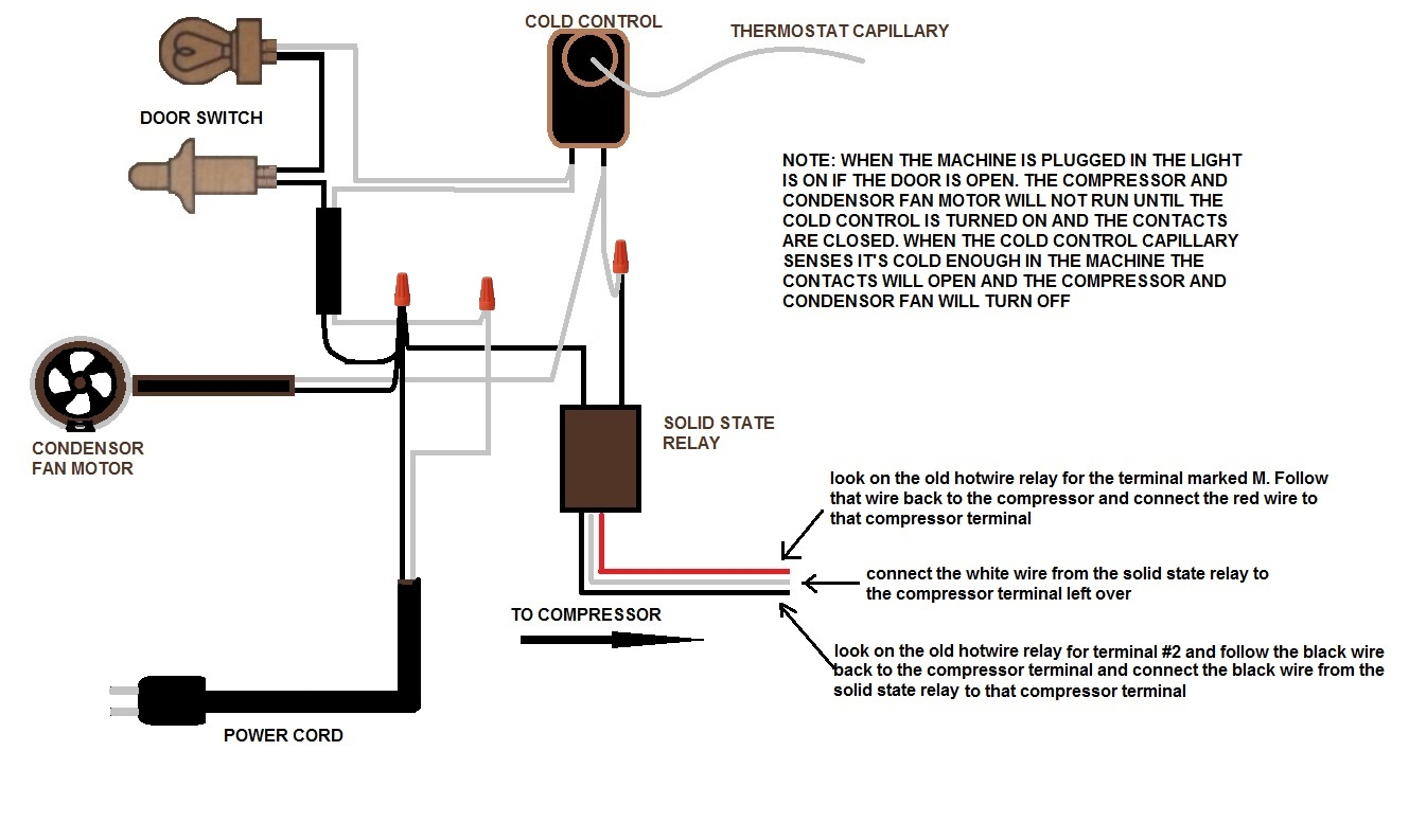 1950 GE combination fridge wiring problem - Model NH-10-GC | Applianceblog  Repair ForumsApplianceBlog