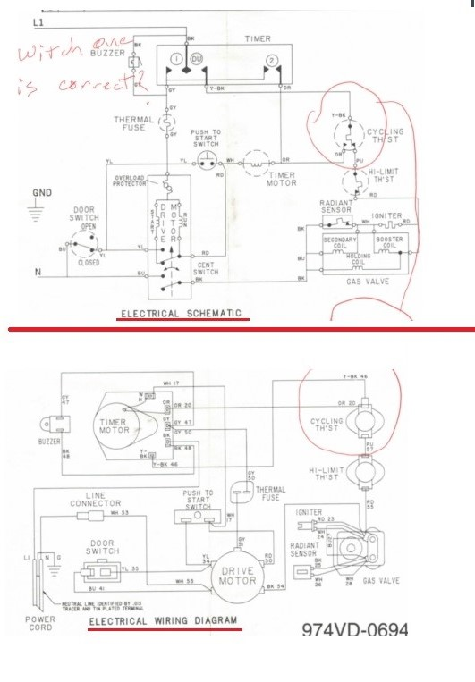 Ldg5004aaw Maytag Dryer Wiring Diagrams, Wiring Diagram For Maytag Dryer