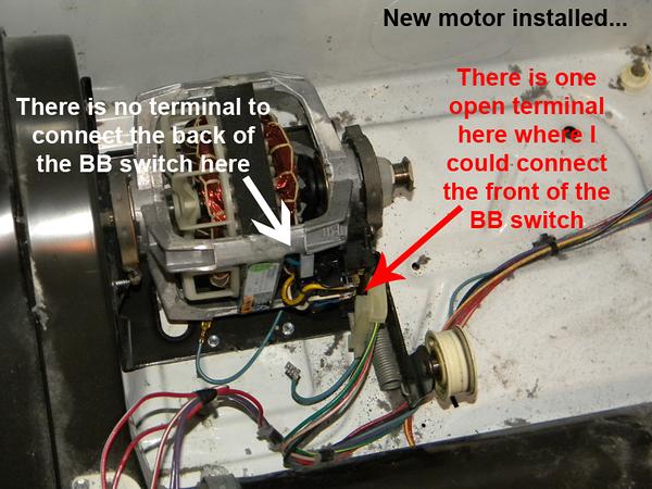 110 60902990 Replace Dryer Motor, Dryer Motor Wiring Diagram