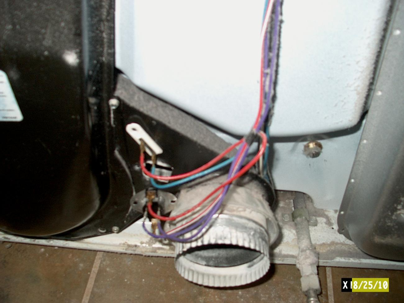 Kenmore Series 80 Electric Dryer Issue Can Find Answer Wiring 4 Wires To A 3 Wire Plug Maytag Electrician Talk Click Image For Larger Version Name Im000021 Views 92 Size
