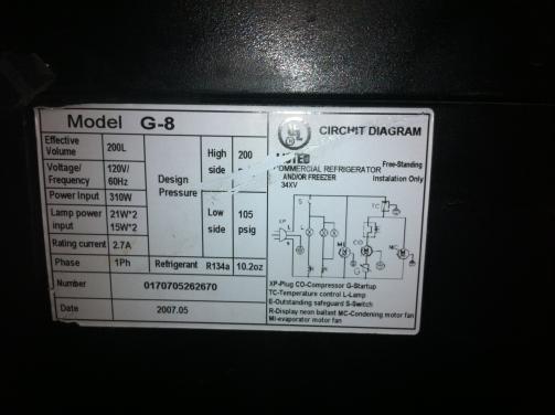 on idw g8 wiring diagram refrigerator