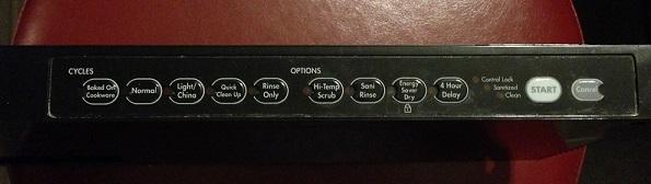 Kitchenaid Superba Dishwasher Control Panel – Wow Blog