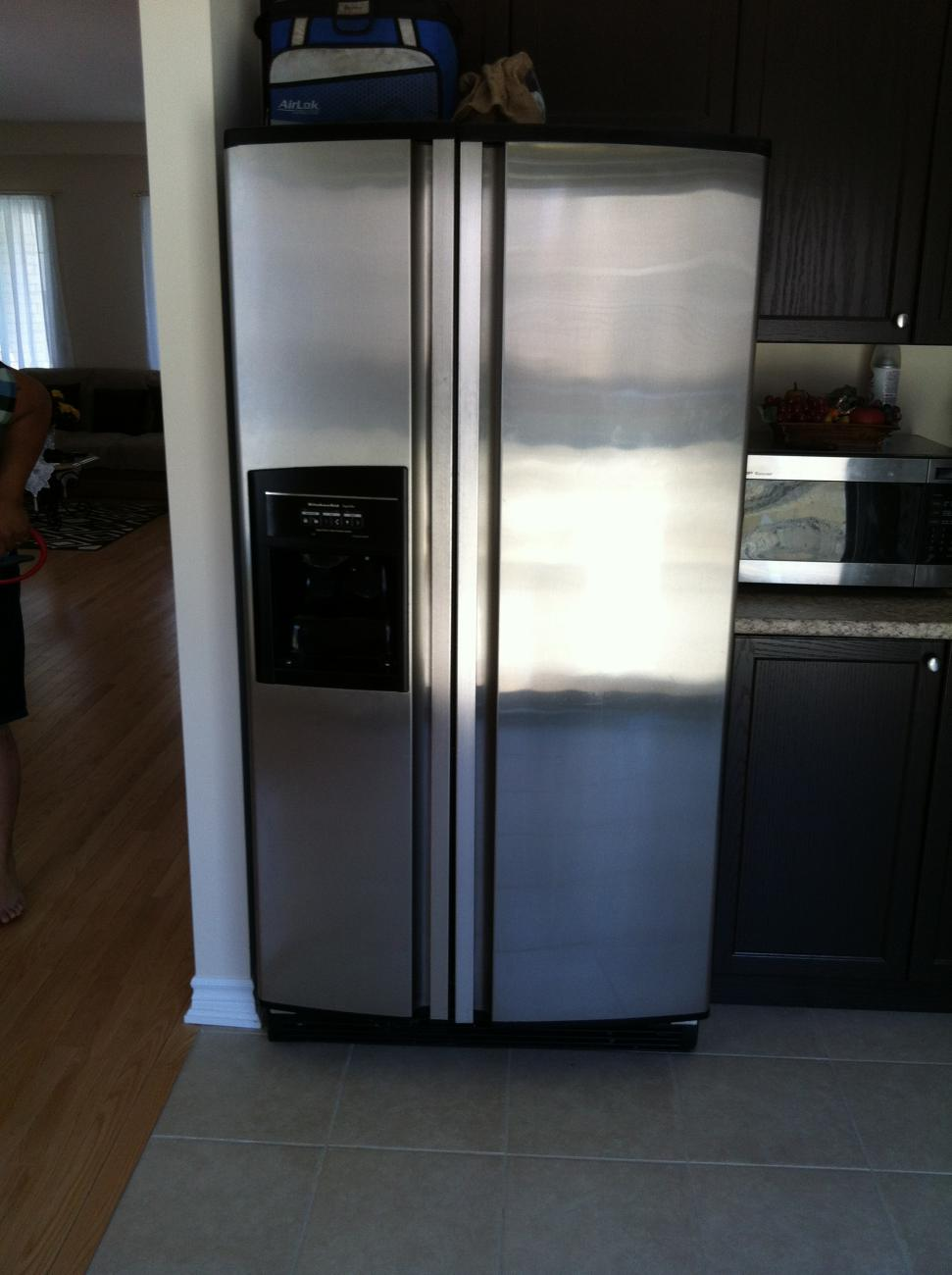 Kitchenaid Refrigerator Superba Kitchenaid Superba Sidebyside Fridge Not Cooling But Freezer Is