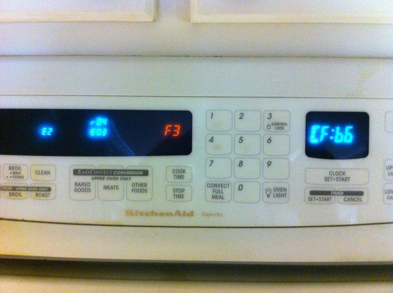Superba Double Oven Error Code Interpretation Applianceblog Repair Forums