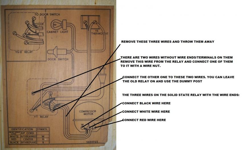 gm frigidaire refrigerator new relay wiring problems click image for larger version 1087 jpg views 121 size