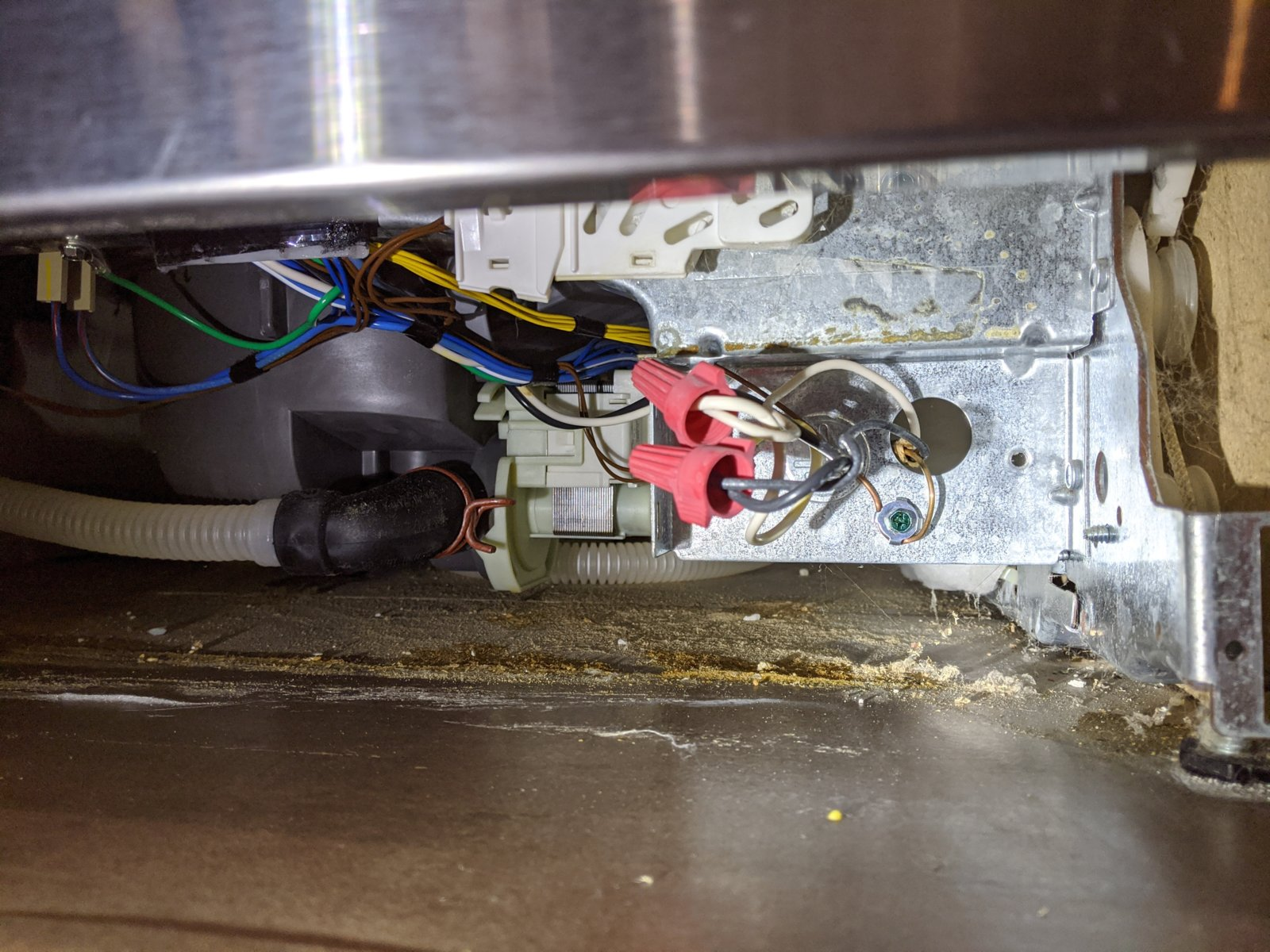 Fixed Kitchenaid Dishwasher Kuds35fxss8 No Power Can T Find Fuse Location Applianceblog Repair Forums