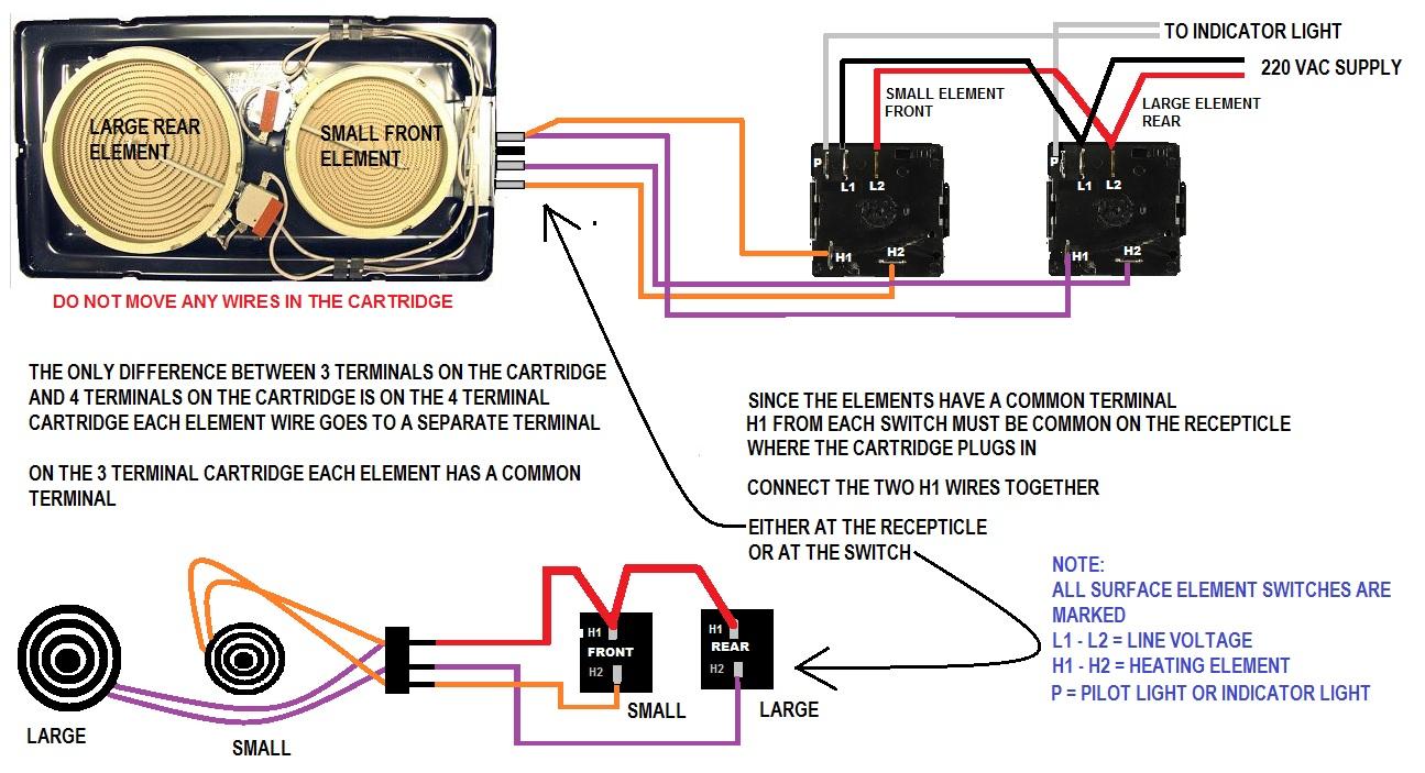 Jenn-Air C221 burner wiring | ApplianceBlog Repair ForumsApplianceBlog