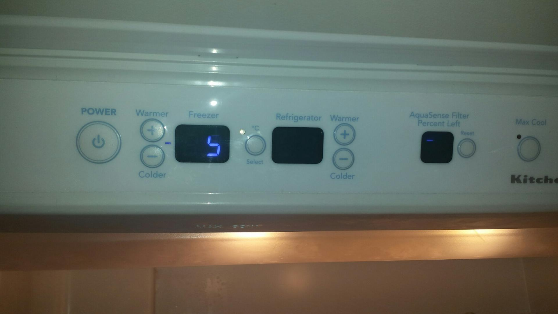 Kitchenaid refrigerator not cooling adequately water dripping lower ...