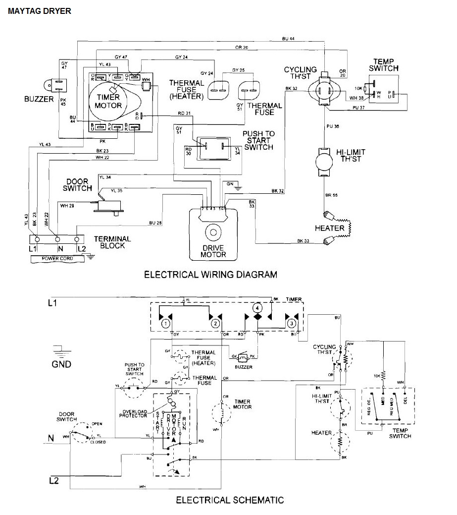 maytag diagrams maytag mde3000ayw temperature switch applianceblog repair forums  maytag mde3000ayw temperature switch