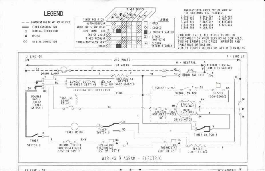 Maytag Electric Med5600tqd Motor, Wiring Diagram For Maytag Dryer