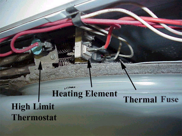 Replacing La1053 Thermal Dryer Fuse Liance Aid Click Image For Larger Version Name Mwthermalfusedryer Jpg Views 731 Size