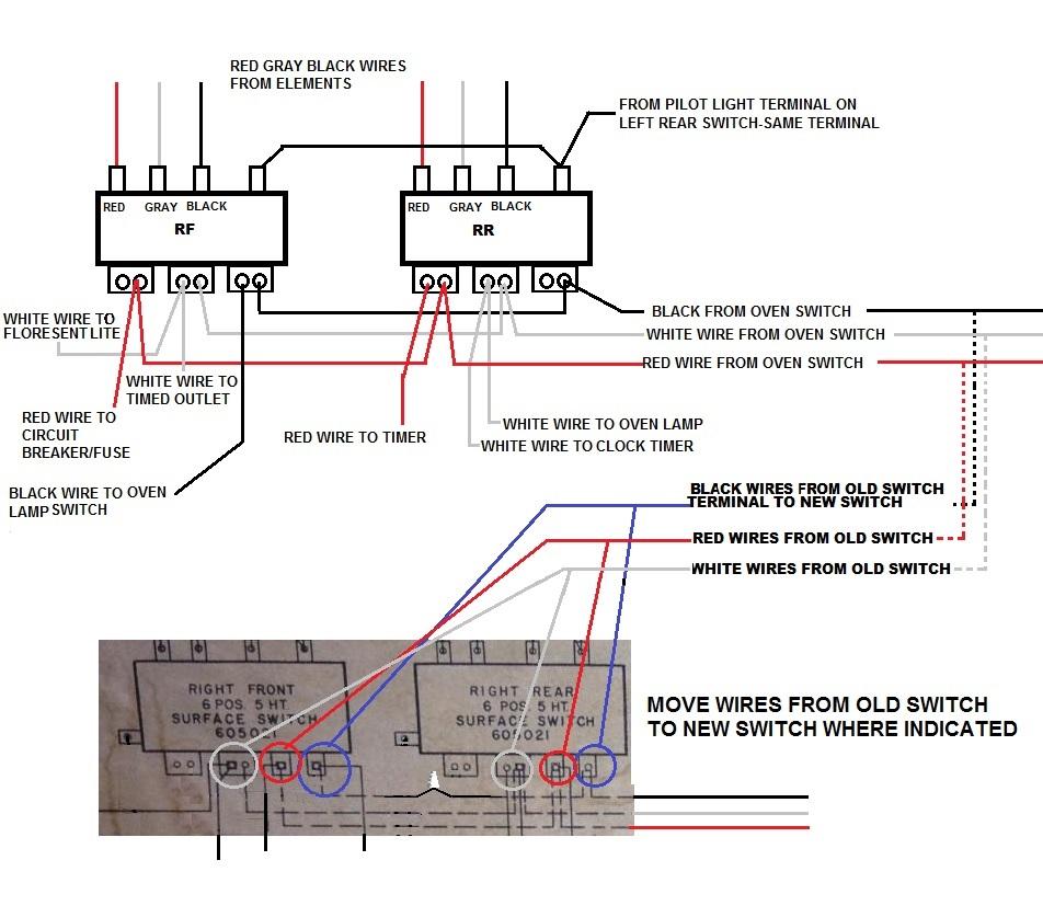 [DIAGRAM_5LK]  Need Help locating Burner Switches For Vintage 1960 Hotpoint Electric Range  | ApplianceBlog Repair Forums | Hotpoint Stove Wiring Diagram |  | ApplianceBlog