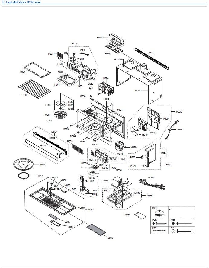 Xac Samsung Otr Microwave