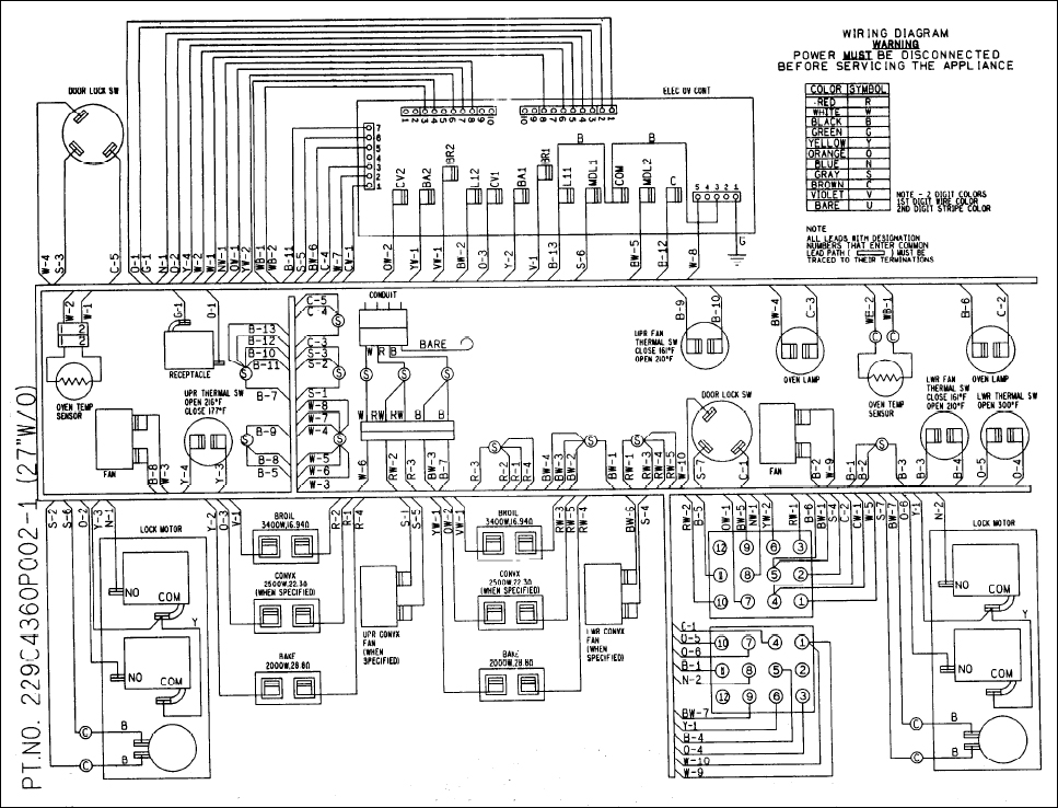 [DIAGRAM_5UK]  F7 code; Need wiring diagram for sanyo ERC3DD oven control #WB27T10287 or  help with installing it | ApplianceBlog Repair Forums | Oven Controller Wiring Diagram |  | ApplianceBlog