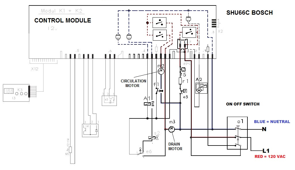 FIXED - SHU66C02UC Bosch Dishwasher repair in doubt | Applianceblog Repair  Forums
