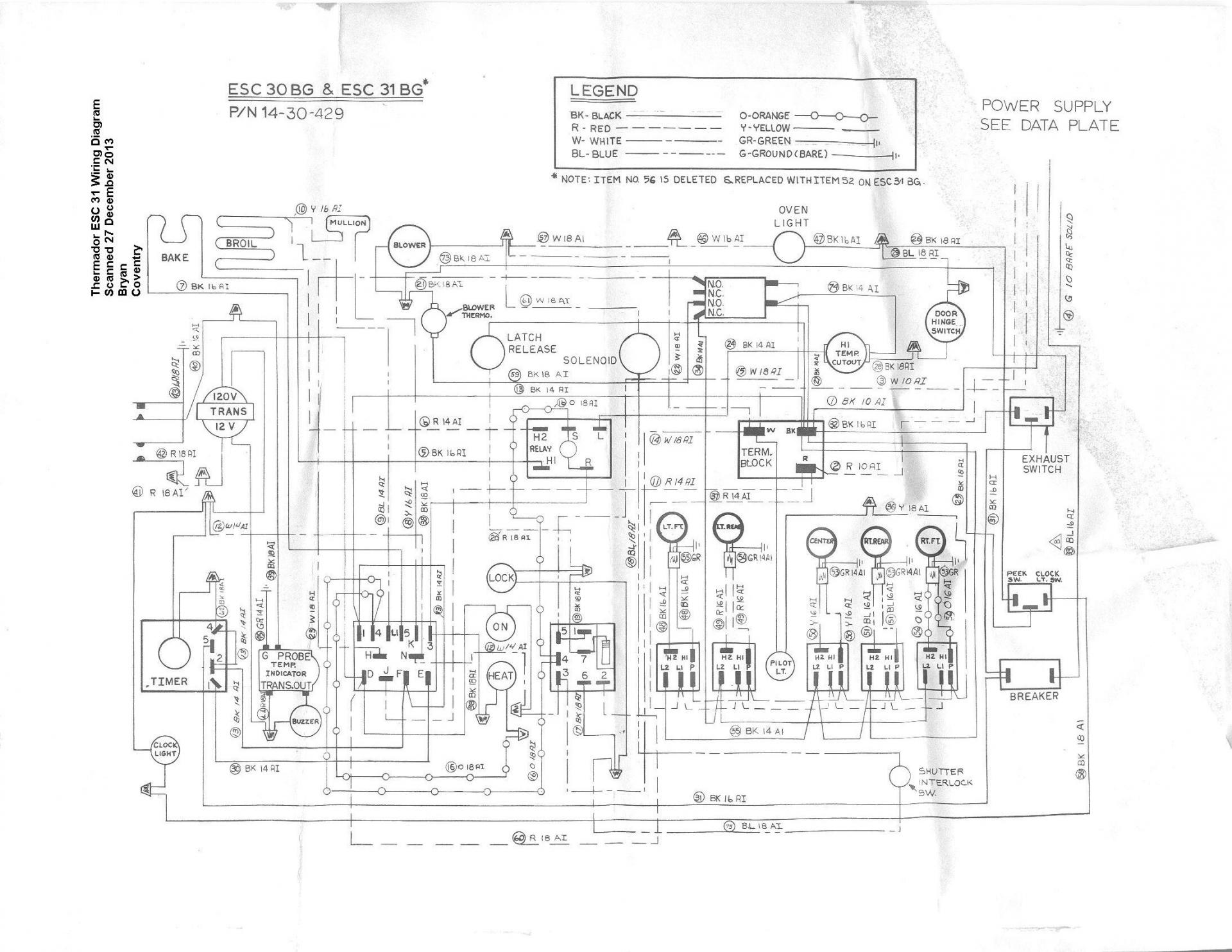 Thermador Electric Oven Only Gets Warm Baking Wiring Diagram Name