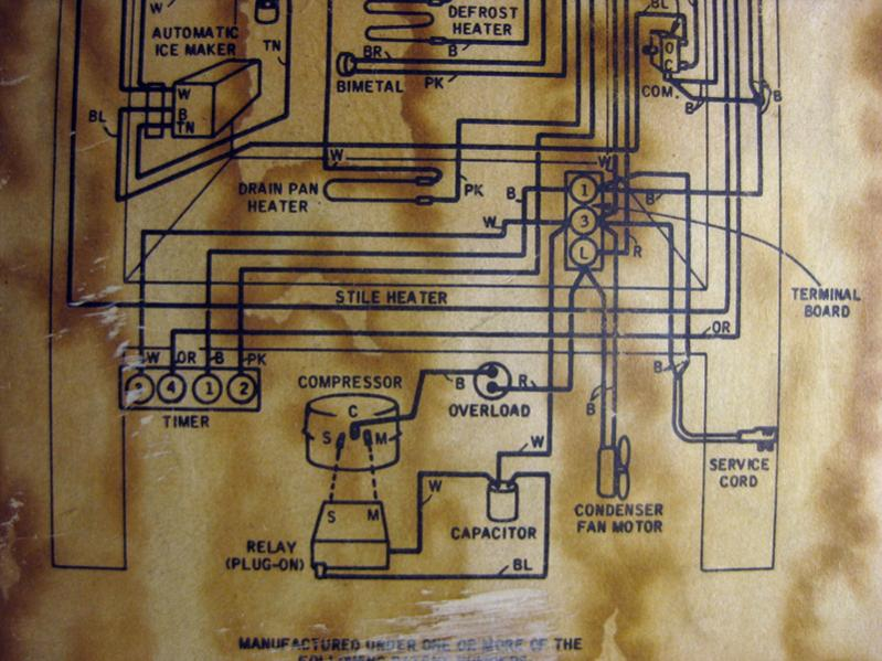 Need Start Relay    Overload Unit For 1967 Coldspot Compressor