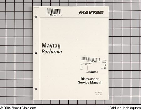 maytag performa pdb dishwasher repair manual applianceblog rh applianceblog com dishwasher repair manual free dishwasher repair manual free